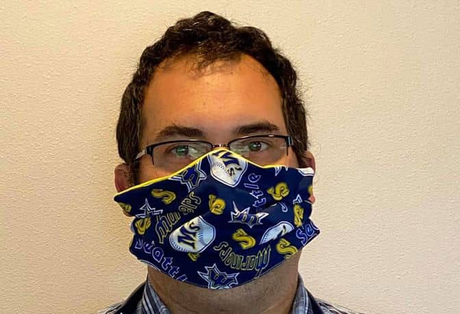 Cloth face mask gift!